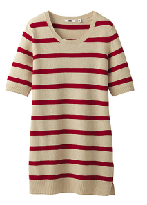 Must Have Tuesday Striped sweater tee