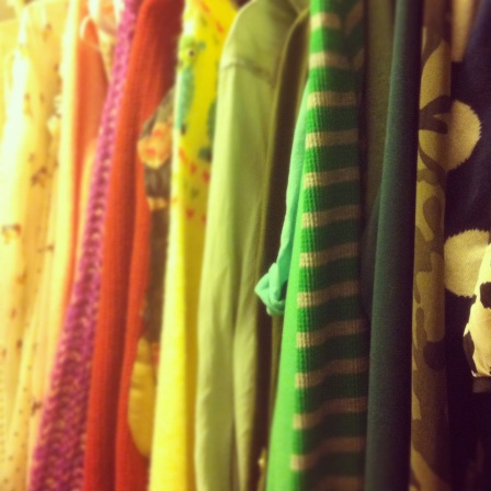 Color Coded Closet